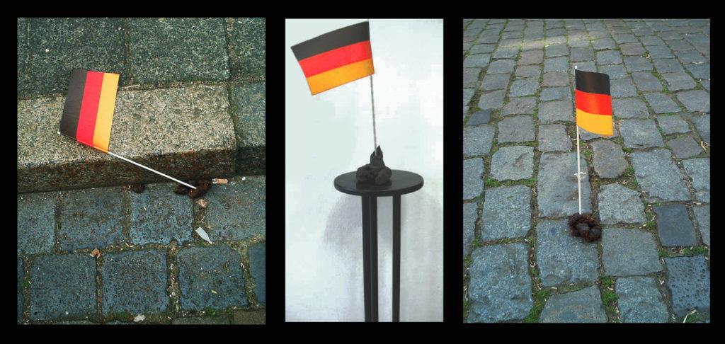 Deutsche Hundescheiße (1995) von Yolanda Feindura